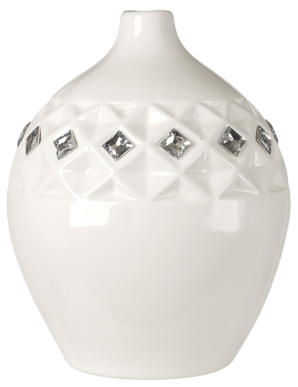5th ave store italian bone china embedded with swarovski crystals 5th ave store italian bone china embedded with swarovski crystals vase reviews wayfair reviewsmspy