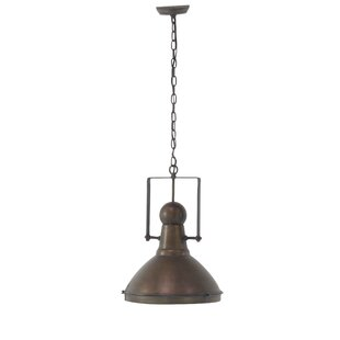 Williston Forge Marhta 1-Light Bell Pendant