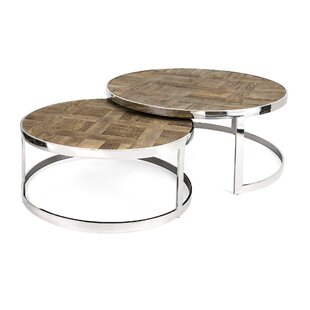 Nakasa Burkett 2 Piece Coffee Table Set