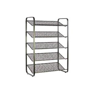 Affordable Price Metal 15 Pair Shoe Rack ByLatitude Run