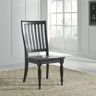 Zachariah Dining Chair (Set Of 2) by Alcott Hill Cheap