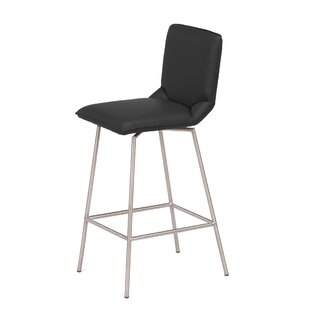 Orren Ellis Hodges Swivel Bar Stool