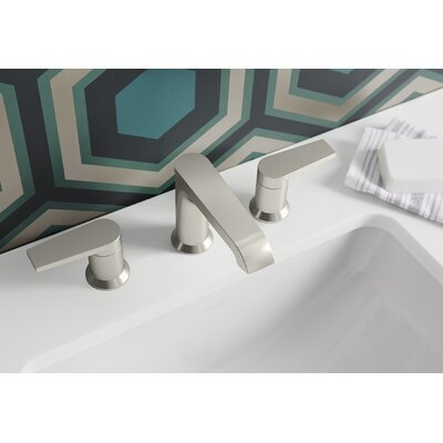 Kohler Bathroom Brushed Nickel Faucet Bathroom Brushed