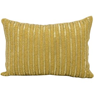Beaded Stripes Lumbar Pillow