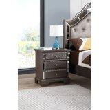 Noonan 3 Drawer Nightstand by House of Hampton®
