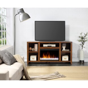 Inexpensive Purington TV Stand for TVs up to 66 with Fireplace by August Grove Reviews (2019) & Buyer's Guide