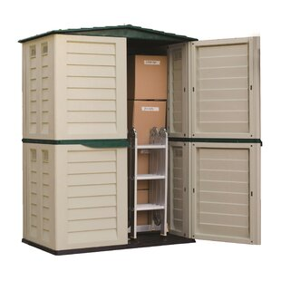 Starplast 5 ft. W x 2 ft. 9 in. D Plastic Vertical Tool Shed