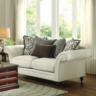 Read Reviews Malinda Loveseat by Darby Home Co Reviews (2019) & Buyer's Guide