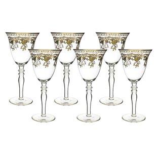 Fine 10 oz. Glass Goblet (Set of 6)