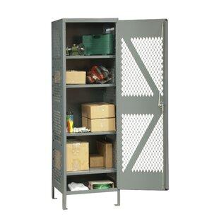 5 Tier 1 Wide Storage Locker by Durham Manufacturing