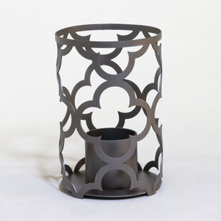 Mediterranean Outdoor Metal Lantern by Terra Flame