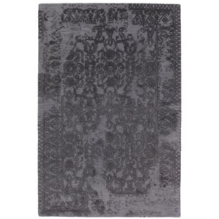 Buying Boothby Hand-Tufted Gray/Black Area Rug ByRosdorf Park