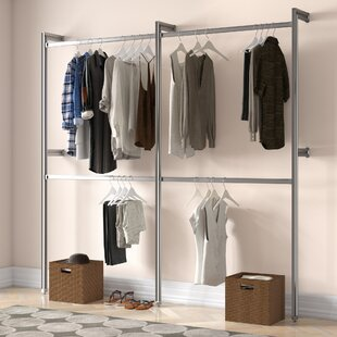 Relax 233cm Wide Clothes Storage System By Space Pro