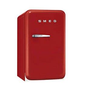 1.5 cu. ft. Compact Refrigerator SMEG Hinge: Left, Color: Red