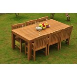 Grena Luxurious 7 Piece Teak Dining Set