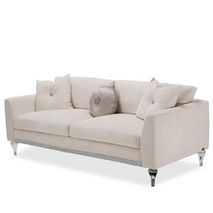 Shop Glimmering Heights Sofa by Michael Amini