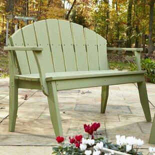 Plaza Garden Bench by Uwharrie Chair
