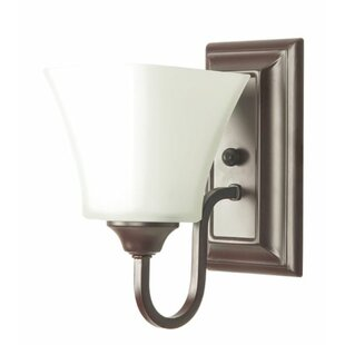 Bauerle Square Armed Sconce by Winston Porter