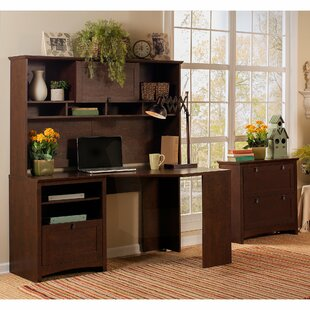 Fralick 3 Piece Reversible Desk Office Suite