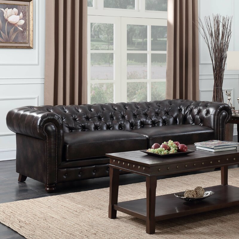 Caine Chesterfield Sofa Reviews Joss Main