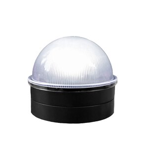 Savings Chainlink Summit Solar 1 Light LED Fence Post Cap By Classy Caps