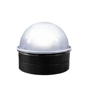 Best Deals Chainlink Summit Solar 1 Light LED Fence Post Cap By Classy Caps