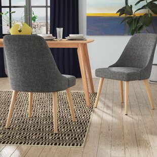 Deonte Upholstered Dining Chair (Set of 2..