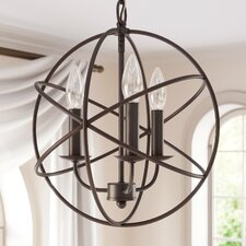 Nickerson 3-Light Candle-Style Chandelier