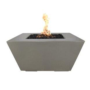 The Outdoor Plus Redan Concrete Fire Pit Table