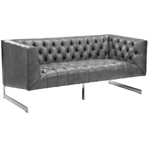 Club Viper Chesterfield Loveseat by Sunpan Modern