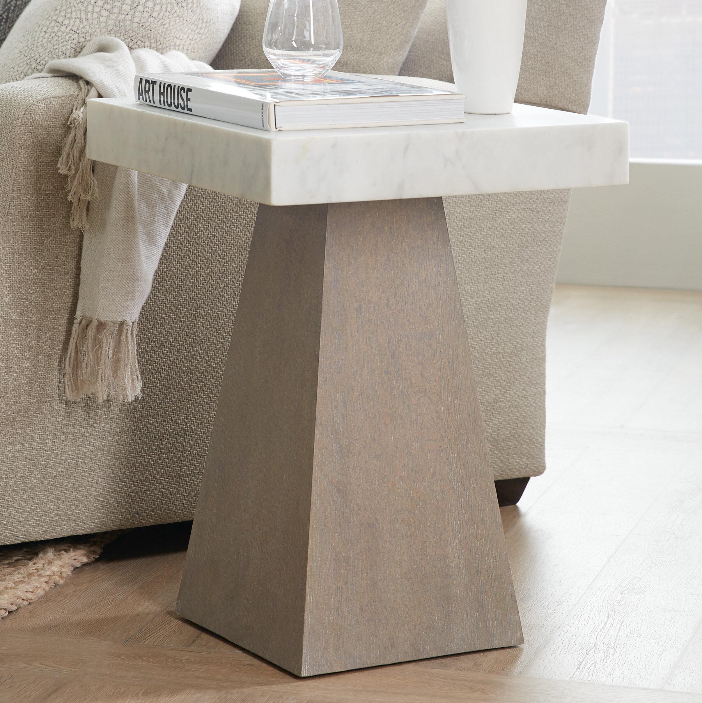 Hooker Furniture Miramar Carmel Lorrain Martini End Table Reviews Wayfair