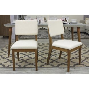 Tauber Upholstered Dining Chair Union Rustic