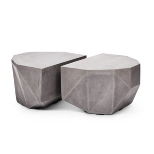 Lesko Geod 2 Piece Coffee Table Set