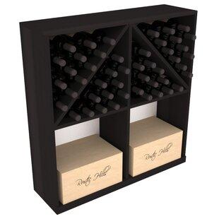 Karnes Redwood 96 Bottle Floor Wine Rack