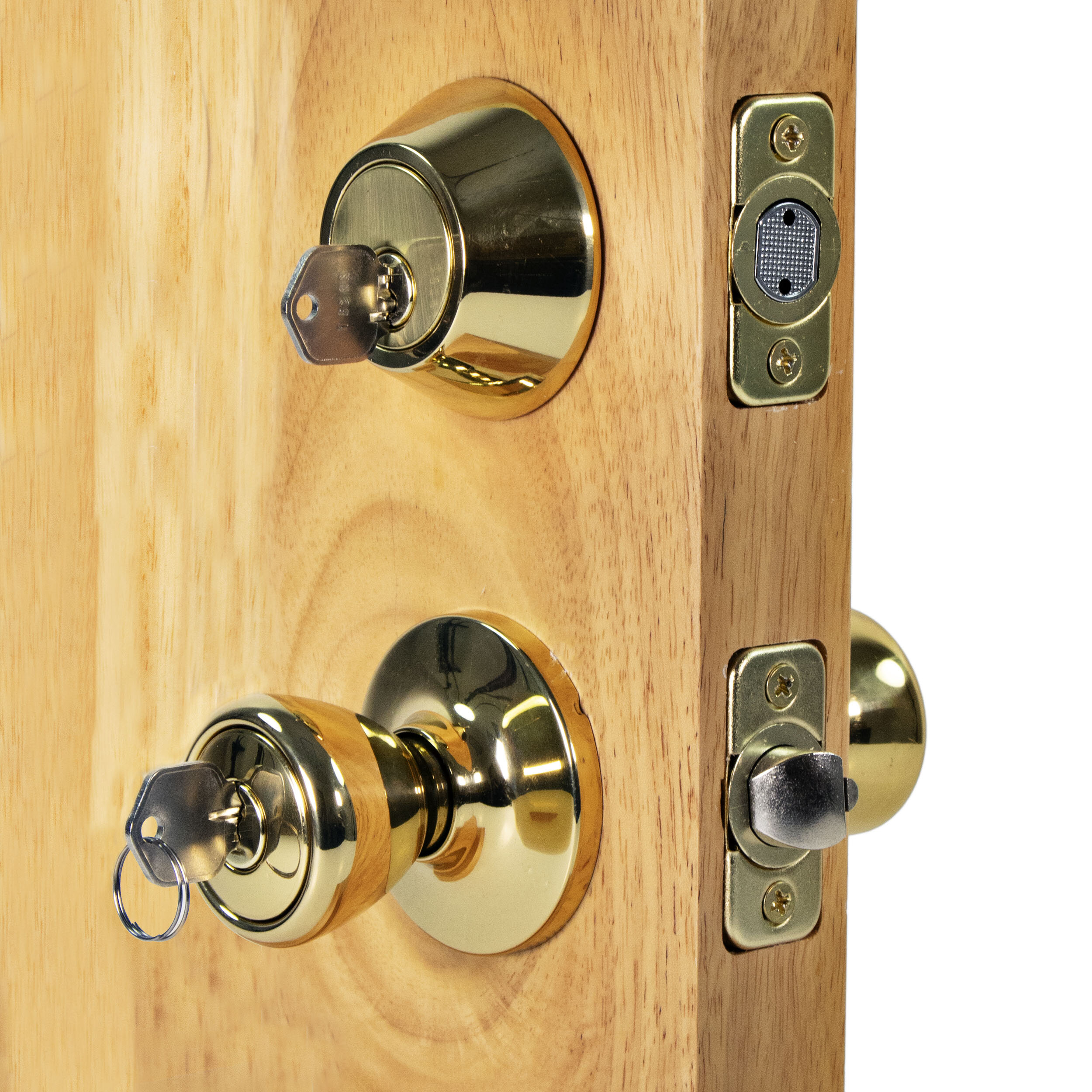 Ultra Security Complete Rittenhouse Entry Knob Set With Double Cylinder Deadbolt Wayfair