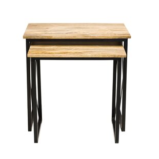 Grisha 2 Piece Nesting Tables by Union Rustic