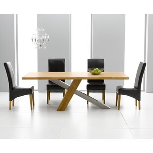Ohio Dining Set with 4 Chairs by Home Etc