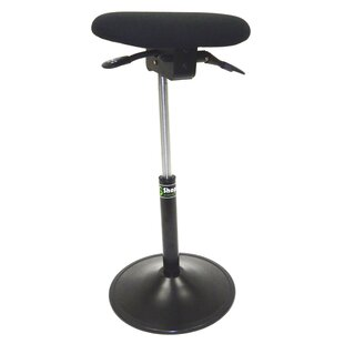 Modern Sit-Stand Height Adjustable Office Chair With Footring And Back by Symple Stuff Great price