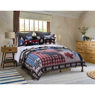 Brookhollow 3 Piece Reversible Quilt Set