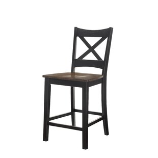 Morrison Solid Wood Dining Chair (Set of 2) World Menagerie