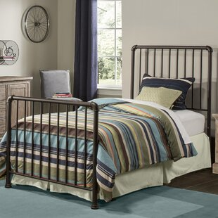 Wanger Twin Slat Bed with Frame by Trent Austin Design