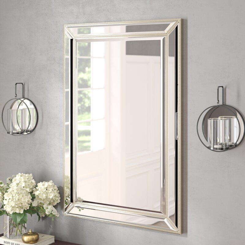 Tutuala Traditional Beveled Accent Mirror by Darby Home Co