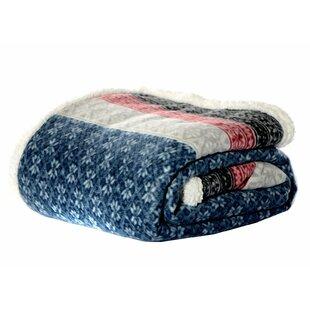 Fairisle Indiana Fleece Throw Blanket by Eddie Bauer