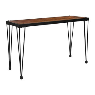 Perrytown Rustic Console Table by Williston Forge Coupon