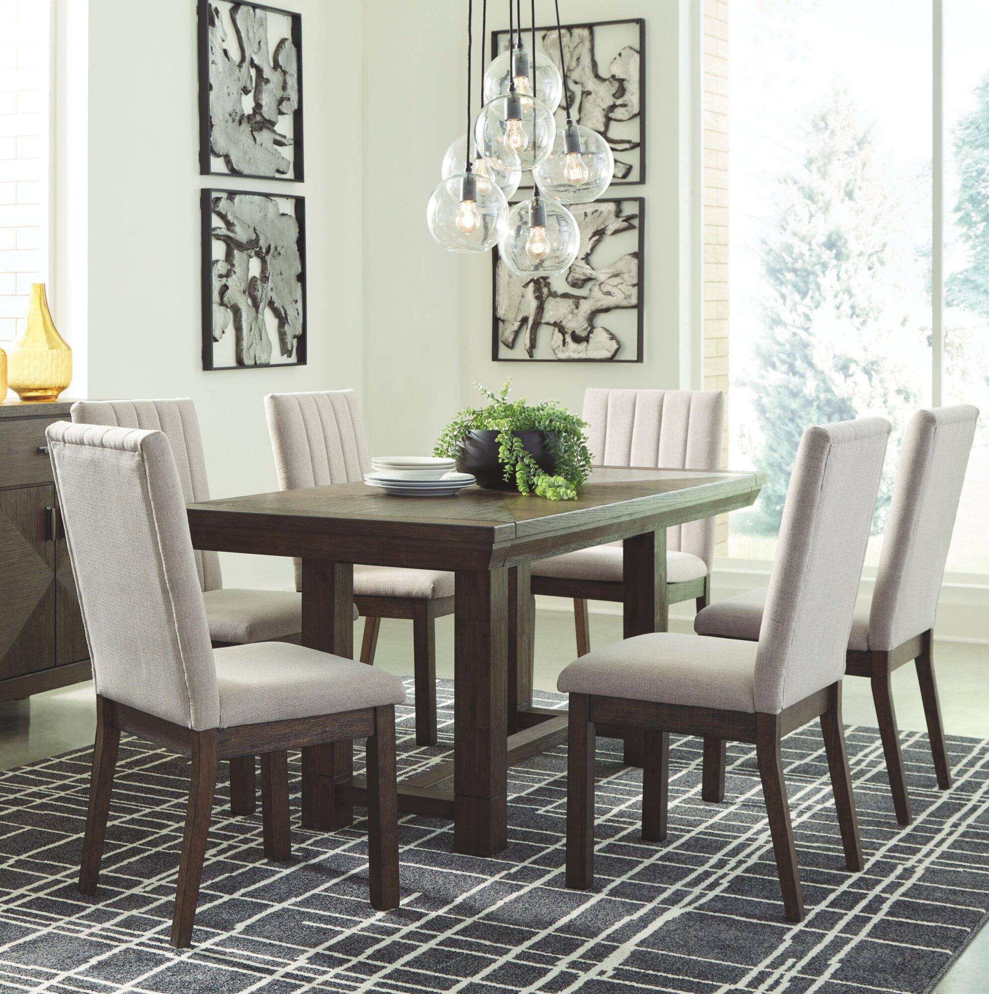 Vergas 7 Piece Dining Set Reviews