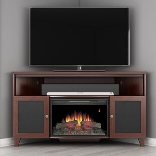 Find for Shaker TV Stand for TVs up to 60 with Fireplace by Furnitech Reviews (2019) & Buyer's Guide