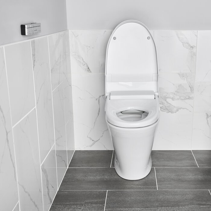Fine Advanced Clean 100 Spalet Elongated Toilet Seat Bidet Pabps2019 Chair Design Images Pabps2019Com