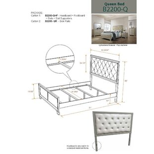 Pless Upholstered Panel Bed