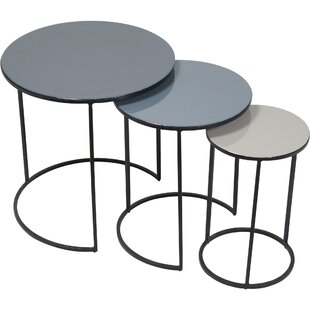 Compare Moniz 3 Piece Nesting Tables by Latitude Run