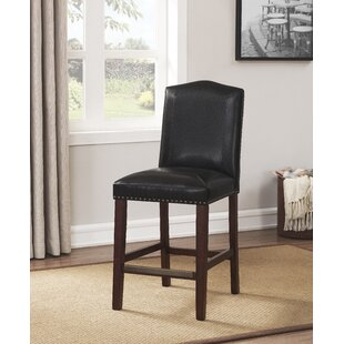 Purser Leather 24 Bar Stool DarHome Co